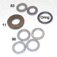 1 oring washer kit for lanterns