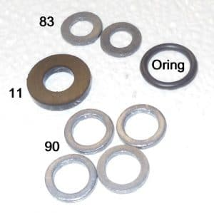 1 oring washer kit for lanterns