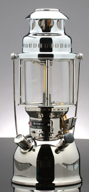 BriteLyt nickel plated brass lantern