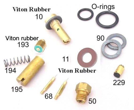 Parts kit for lanterns