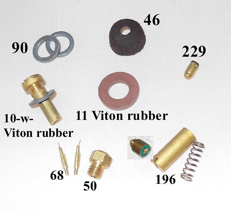 150CP/ BriteLyt Leather washer parts kit.