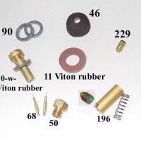500CP / BriteLyt Leather washer parts kit.