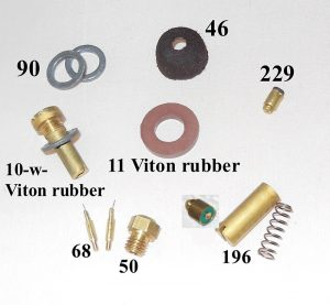 500CP / BriteLyt Leather washer parts kit.