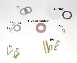 150CP / BriteLyt Petromax Parts Kit w/1-Orings-Part 1020-1-150CP