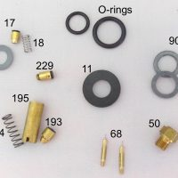 500CP / BriteLyt Petromax Parts Kit w/2-Orings-Part 1020-2-500CP