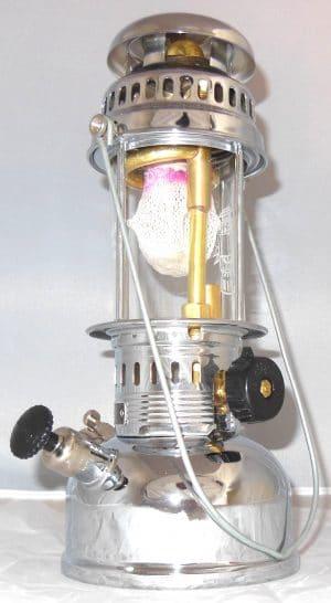 150CP BriteLyt Nickel & Chrome Plated Lantern