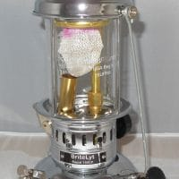 150CP BriteLyt Nickel & Chrome Plated Lantern