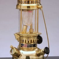 150CP BriteLyt Polished Brass Lantern