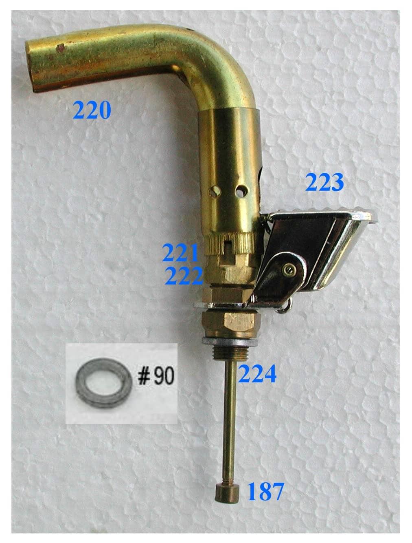 Connecting piece-part 224-1-quart