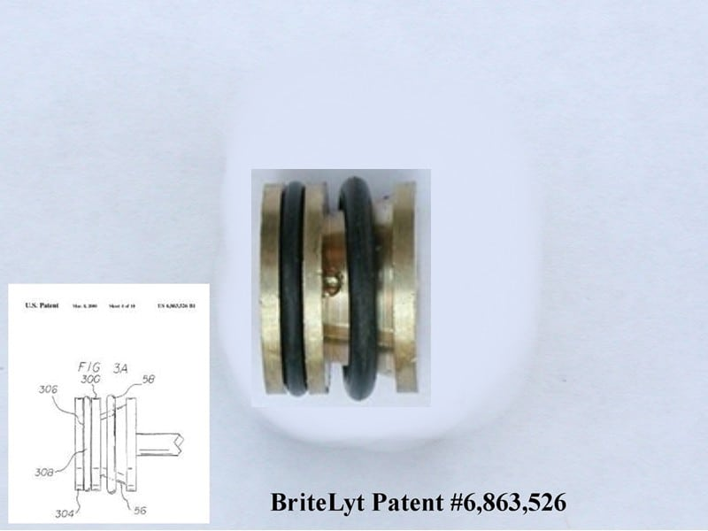 Part Double 46-O-Ring for all size CP or HK lanterns