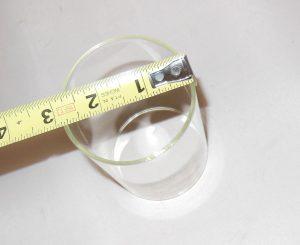150CP Hipolito Clear Glass Globe (Chimney)