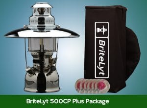 Plus Package 500CP Lantern FREE shipping to most areas