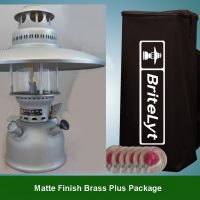 Plus Package Matte Finish Brass 500CP Lantern FREE shipping to most areas