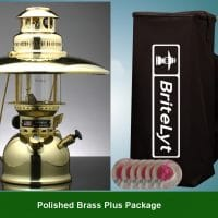 Plus Package Polished Brass 500CP Lantern FREE shipping to most areas