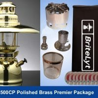 Premier Package Polished Brass 500CP Premier Package 500CP FREE shipping to most areas