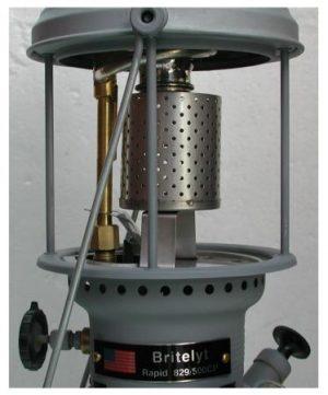 Heat Shield with BriteLyt Heating Adaptor